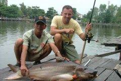 01-2006, Thailand, Giant Catfish, Mekong 23,000 kg, Christian B Andersen