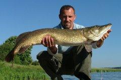 02-07-2006, Tystrup Sø, Gedde 9,400 kg, Christian B Andersen