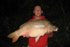 02-09-2006, Jo-Jos Frankrig, Spejlkarpe 12,000 kg, 82,5 cm, Thomas Haggren