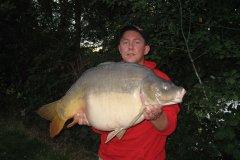 02-09-2006, Jo-Jos Frankrig, Spejlkarpe 17,700 kg, 88,0 cm, Thomas Haggren