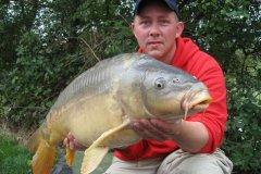03-09-2006, Jo-Jos Frankrig, Spejlkarpe 13,000 kg, 91,0 cm, Thomas Haggren