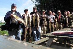 04-06-2013, Pensionisterne hyggede sig på søen den 4 juni Der var gode fisk og en god frokost Jørgen Christensen