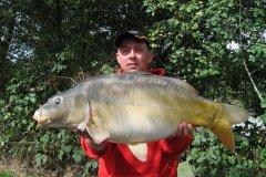 04-09-2006, Jo-Jos Frankrig, Spejlkarpe 11,900 kg, 86,0 cm, Thomas Haggren