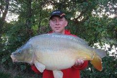 04-09-2006, Jo-Jos Frankrig, Spejlkarpe 8,500 kg, 74,0 cm, Thomas Haggren