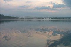 09-07-2006, Morgendis over Susåen ved udløbet i Tystrup Sø