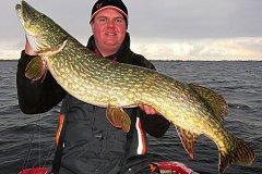 09-12-2012, sø, Gedde 11,500 kg, 115,0 cm, Michael Jæger Petersen