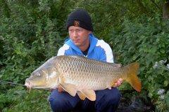14-07-2005, Mose på Sjælland, Skælkarpe 7,300 kg, Thomas Haggren