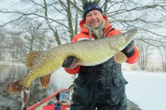 15-01-2013, Sø, Gedde 10,400 kg, Allan Larsen