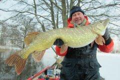 15-01-2013, Sø, Gedde 9,150 kg, Allan Larsen