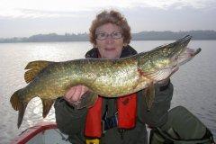 15-11-2012, Tystrup Sø, Gedde 5,000 kg, Lene Olsen