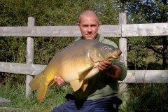 17-10-2005, Jo-Jos Frankrig, Spejlkarpe 12,150 kg, Thomas Haggren