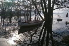 19-02-2016, Hvad er å og hvad er sø3F Her set fra ankerpladsen i Tissø, hvor søen i øjeblikket er ca 1,5 m over normalen, så husk waders