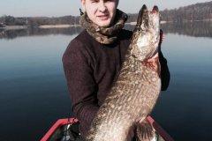 19-03-2015, Tystrup Sø, Gedde 8,000 kg, Louis