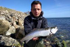 07-04-2020, Havørred, 50 cm., Kyst, Morten Kantsø