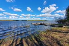 25-04-2020, Båd og bro isætning på Tystrup