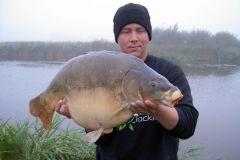 23-09-2005, Schmale Tyskland, Spejlkarpe 11,100 kg, Thomas Haggren