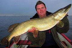 25-11-2012, sø, Gedde 9,300 kg, 107,0 cm, Michael Jæger Petersen