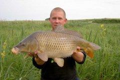 26-06-2006, Lokal mose, Skælkarpe 6,800 kg, Thomas Haggren