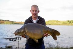 28-08-2004, Grusgrav i Svebølle, Spejlkarpe 9,300 kg, Thomas Haggren